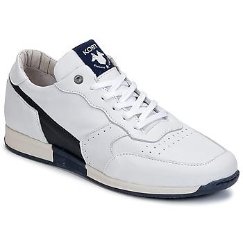 Pantofi Bărbați Pantofi sport Casual Kost HOOPER Alb / Bleumarin
