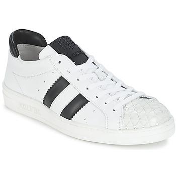 Pantofi Femei Pantofi sport Casual Bikkembergs BOUNCE 594 LEATHER Alb / Negru