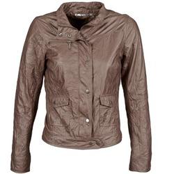 Îmbracaminte Femei Jachete din piele și material sintetic DDP GIRUP Maro
