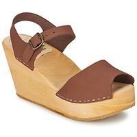 Pantofi Femei Sandale și Sandale cu talpă  joasă Le comptoir scandinave OGOLATO Maro
