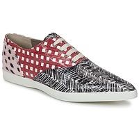 Încăltăminte Femei Pantofi sport Casual Marc Jacobs Elap Negru / Alb / Roșu