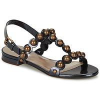 Încăltăminte Femei Sandale și Sandale cu talpă  joasă Marc Jacobs Vegetal Negru