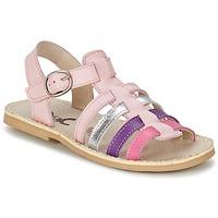 Pantofi Fete Sandale  Citrouille et Compagnie RAINA Roz / Violet