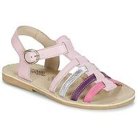 Pantofi Fete Sandale și Sandale cu talpă  joasă Citrouille et Compagnie RAINA Roz / Violet