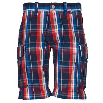 Îmbracaminte Bărbați Pantaloni scurti și Bermuda Oxbow TAKAROA Bleumarin / Roșu