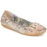 Pantofi Femei Balerin și Balerini cu curea Mjus CHANTAL Roz
