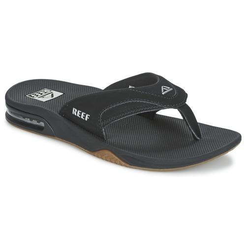 Pantofi Bărbați  Flip-Flops Reef FANNING Negru