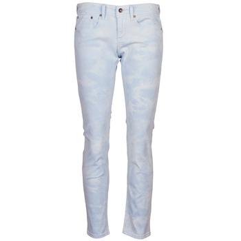 Îmbracaminte Femei Pantalon 5 buzunare Roxy SUNTRIPPERS TIE-DYE Albastru