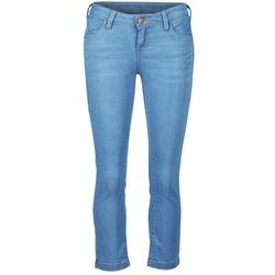 Îmbracaminte Femei Pantaloni trei sferturi School Rag PART COURT COMF Albastru / Medium