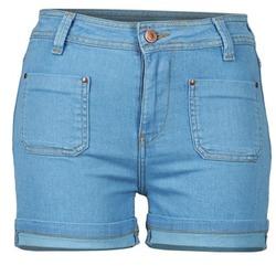 Îmbracaminte Femei Pantaloni scurti și Bermuda School Rag SUN Albastru / Medium