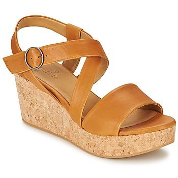 Încăltăminte Femei Sandale și Sandale cu talpă  joasă Coclico MEL Camel