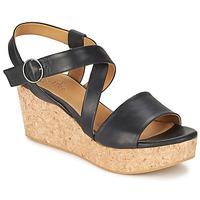 Încăltăminte Femei Sandale și Sandale cu talpă  joasă Coclico MEL Negru