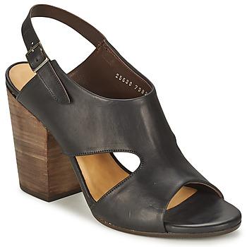 Încăltăminte Femei Sandale și Sandale cu talpă  joasă Coclico CASPAR Negru