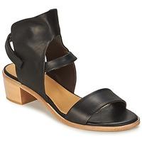 Încăltăminte Femei Sandale și Sandale cu talpă  joasă Coclico TYRION Negru