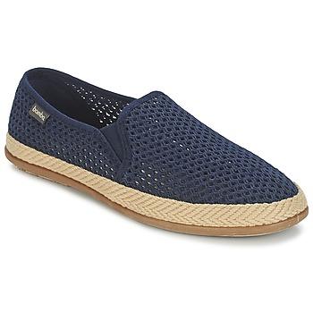 Pantofi Bărbați Espadrile Bamba By Victoria COPETE ELASTICO REJILLA TRENZA Albastru