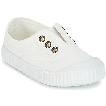 Încăltăminte Copii Pantofi sport Casual Victoria INGLESA LONA TINTADA Alb