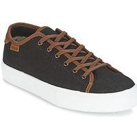 Încăltăminte Bărbați Pantofi sport Casual Victoria BASKET LINO DETALLE MARRON Negru / Maro