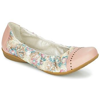 Pantofi Femei Balerin și Balerini cu curea Dkode FARIS Roz