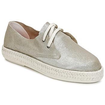 Pantofi Femei Espadrile Bunker IBIZA Argintiu