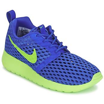 Încăltăminte Băieți Pantofi sport Casual Nike ROSHE ONE FLIGHT WEIGHT BREATHE JUNIOR Albastru / Verde