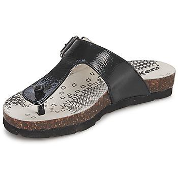 Pantofi Fete  Flip-Flops Kickers DITIK Negru