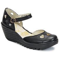 Pantofi Femei Pantofi cu toc Fly London YUNA Negru