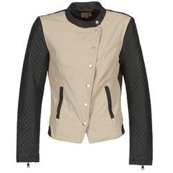 Îmbracaminte Femei Jachete din piele și material sintetic Only LICENS Bej / Negru
