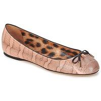 Pantofi Femei Balerin și Balerini cu curea Roberto Cavalli XPS151-UB043 Roz