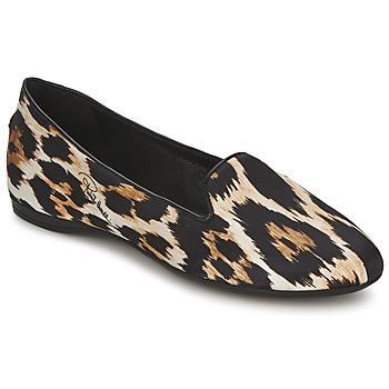 Pantofi Femei Balerin și Balerini cu curea Roberto Cavalli XPS280-FLA41 Leopard