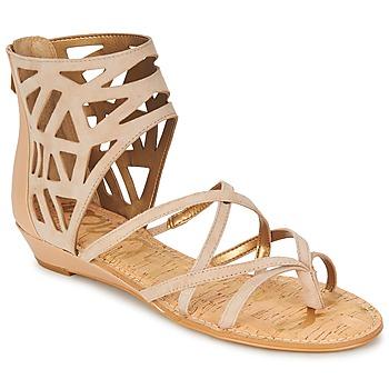 Pantofi Femei Sandale și Sandale cu talpă  joasă Sam Edelman DANA Moka / Taupe