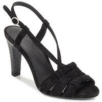 Pantofi Femei Sandale și Sandale cu talpă  joasă n.d.c. SOFIA Negru