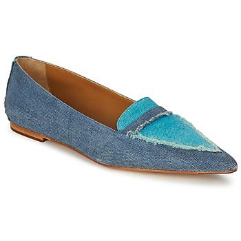 Pantofi Femei Mocasini Castaner KATY Albastru / Jean