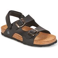 Pantofi Băieți Sandale  Citrouille et Compagnie KELATU Negru / Mate