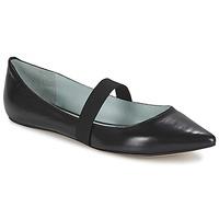 Pantofi Femei Balerin și Balerini cu curea Marc Jacobs HALSEY Negru
