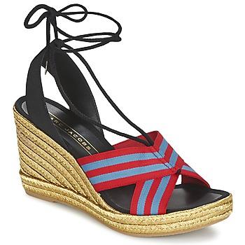 Încăltăminte Femei Sandale și Sandale cu talpă  joasă Marc Jacobs DANI Albastru / Roșu