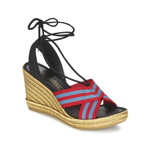 Pantofi Femei Sandale  Marc Jacobs DANI Albastru / Roșu