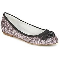 Pantofi Femei Balerin și Balerini cu curea Café Noir BOLERA Glitter / Black