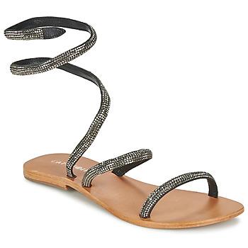 Pantofi Femei Sandale  Café Noir CAMPIBALO Gri