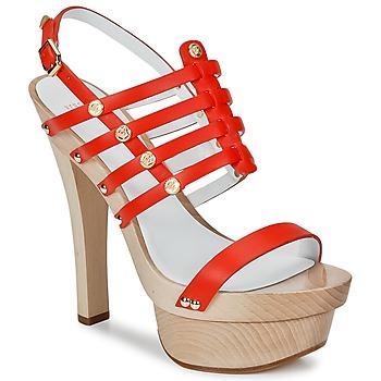 Pantofi Femei Sandale  Versace DSL943T Roșu