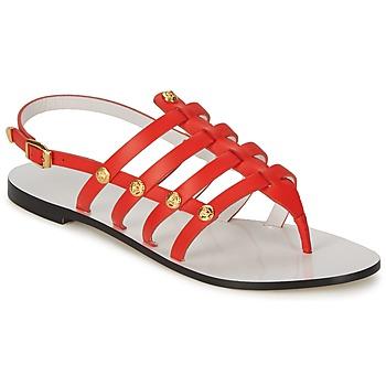 Pantofi Femei Sandale  Versace DSL944C Corai