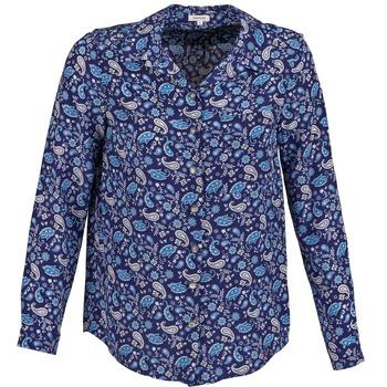 Îmbracaminte Femei Cămăși și Bluze Manoush BANDANA SILK Albastru