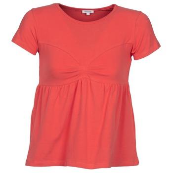 Îmbracaminte Femei Tricouri mânecă scurtă Manoush MOLLETON Corai