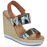 Pantofi Femei Sandale și Sandale cu talpă  joasă Mellow Yellow VABLISS Albastru