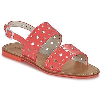 Pantofi Femei Sandale și Sandale cu talpă  joasă Mellow Yellow VADINA Corai
