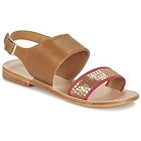 Pantofi Femei Sandale și Sandale cu talpă  joasă Mellow Yellow VADELI Camel