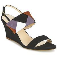 Pantofi Femei Sandale și Sandale cu talpă  joasă Mellow Yellow VEPALE Negru