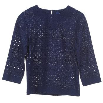Îmbracaminte Femei Topuri și Bluze Gant 431951 Albastru