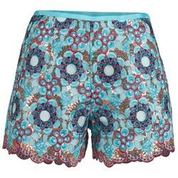 Îmbracaminte Femei Pantaloni scurti și Bermuda Manoush FRESQUE Albastru