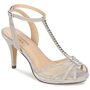 Pantofi Femei Sandale și Sandale cu talpă  joasă Menbur PALMA Bej-nisip / Iris