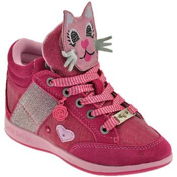 Pantofi Copii Pantofi sport stil gheata Lelli Kelly Gattino roz